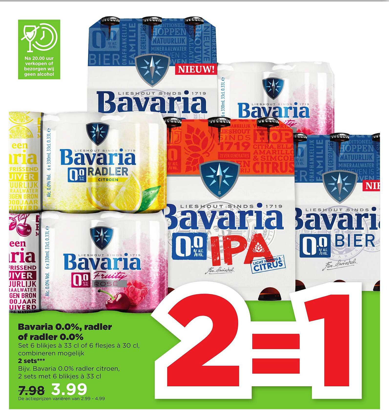 PLUS Bavaria 0.0%, Radler Of Radler 0.0%
