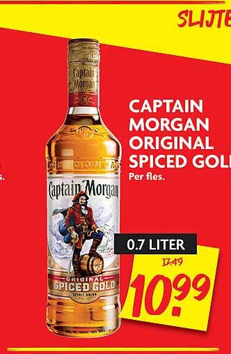 DekaMarkt Captain Morgan Original Spiced Gold