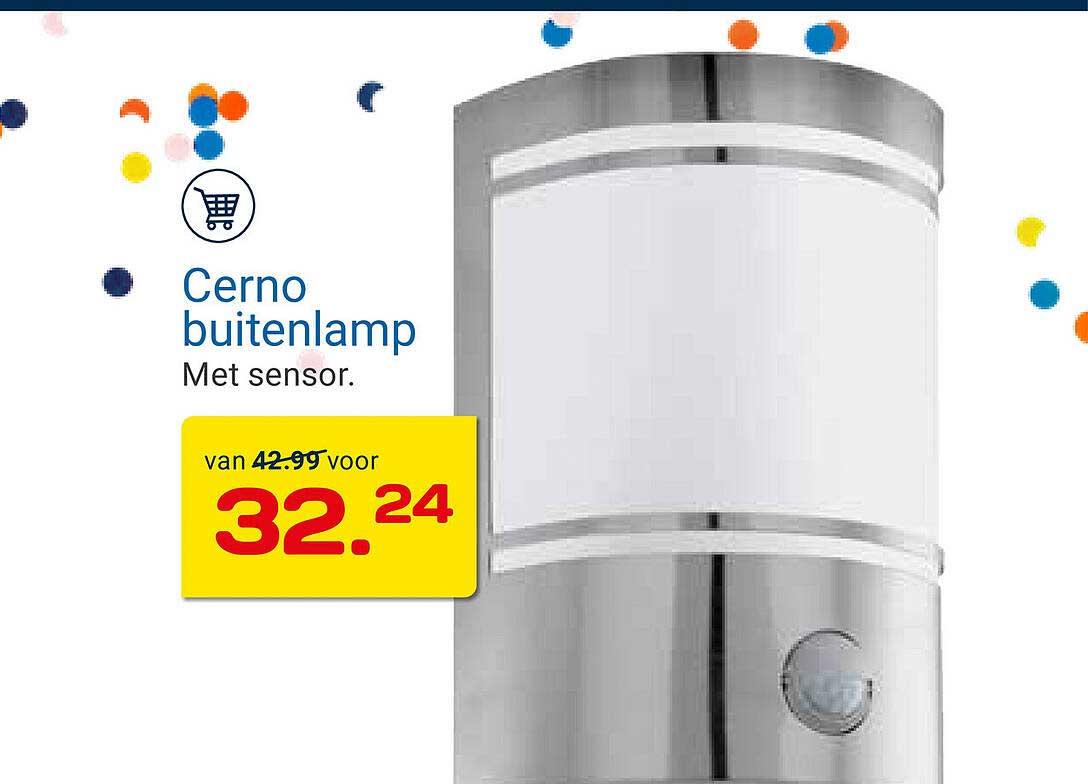 KlusWijs Cerno Buitenlamp Met Sensor