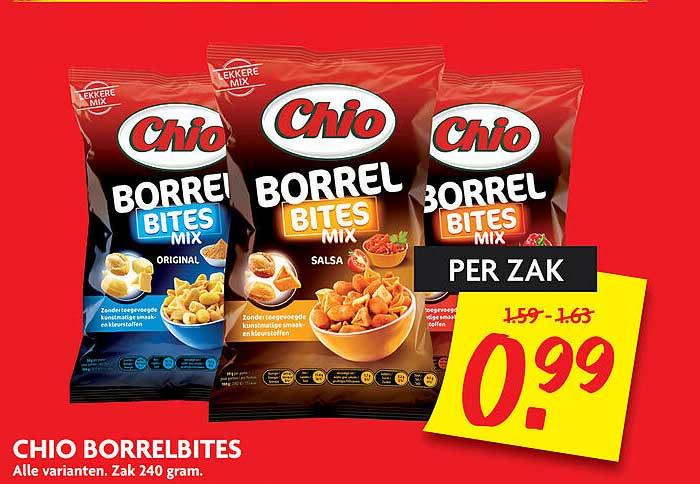 DekaMarkt Chio Borrelbites