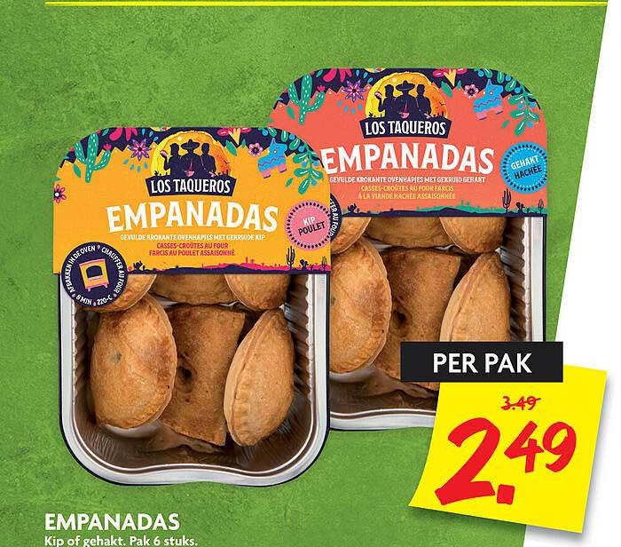DekaMarkt Empanadas Kip Of Gehakt
