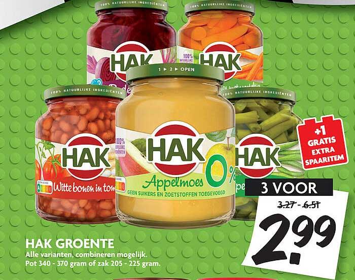 DekaMarkt Hak Groente