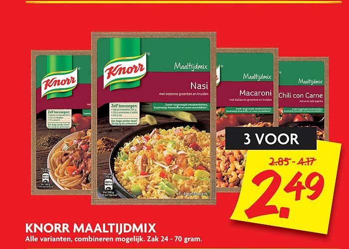 DekaMarkt Knorr Maaltijdmix