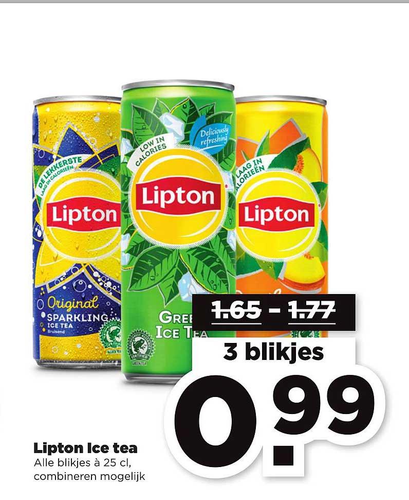 PLUS Lipton Ice Tea