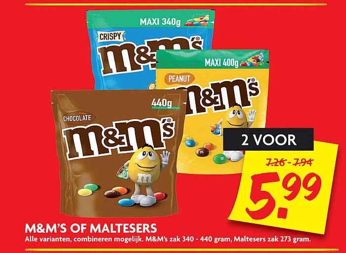 DekaMarkt M&M's Of Maltesers