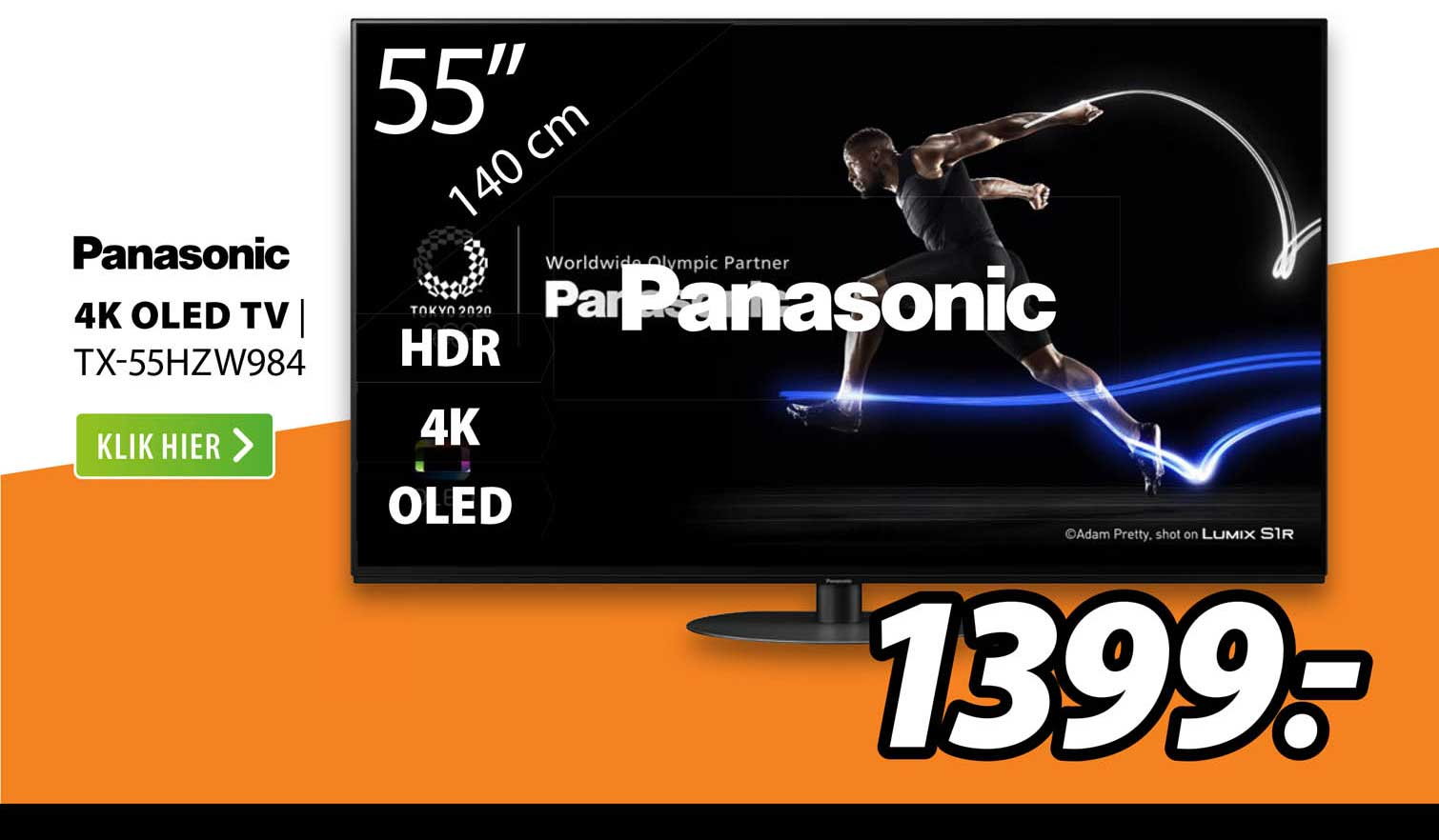 Expert Panasonic 4K OLED TV | TX-55HZW984