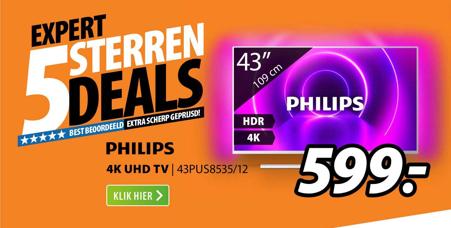 Expert Philips 4K UHD TV | 43PUS8535-12