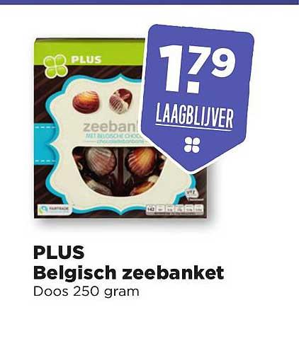 PLUS Plus Belgisch Zeebanket