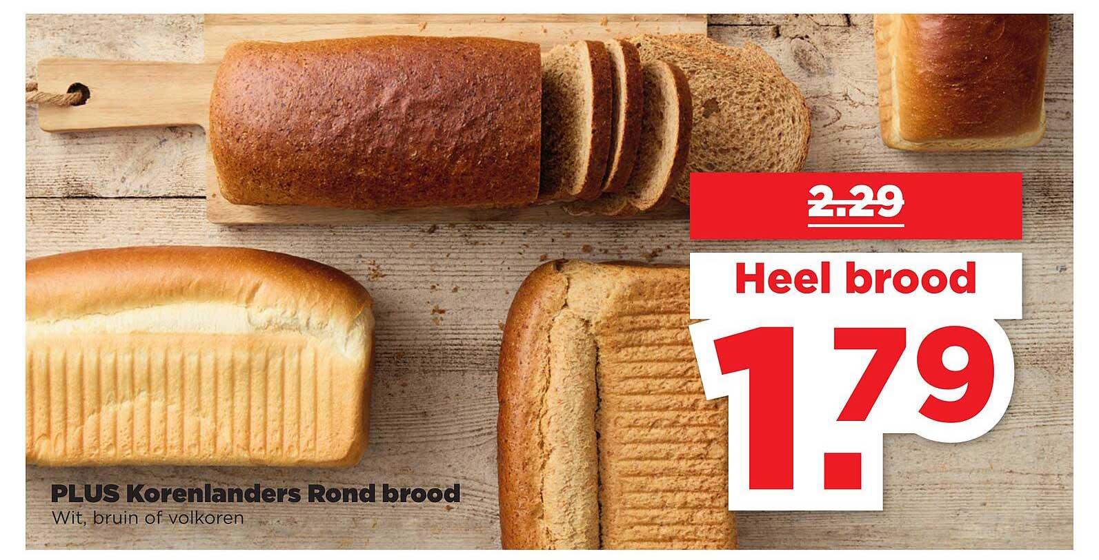 PLUS Plus Korenlanders Rond Brood