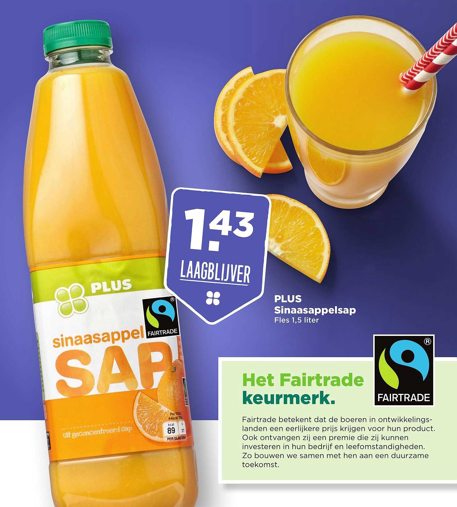 PLUS Plus Sinaasappelsap