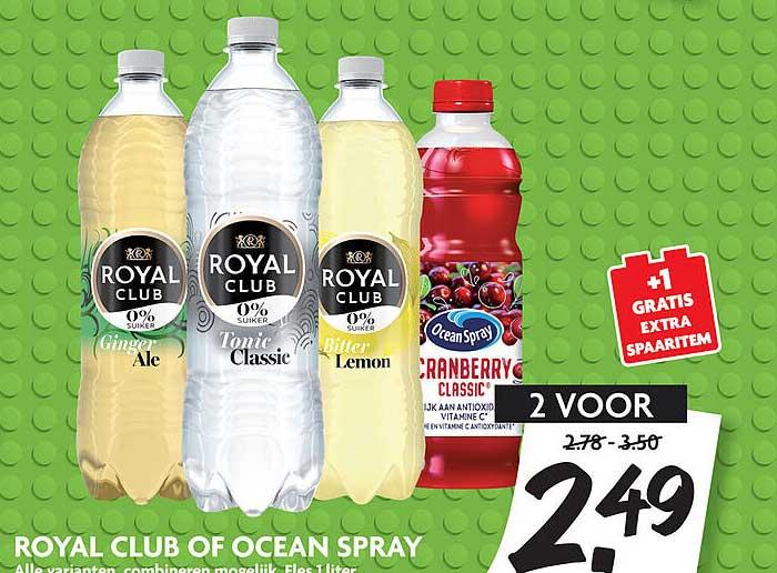 DekaMarkt Royal Club Of Ocean Spray