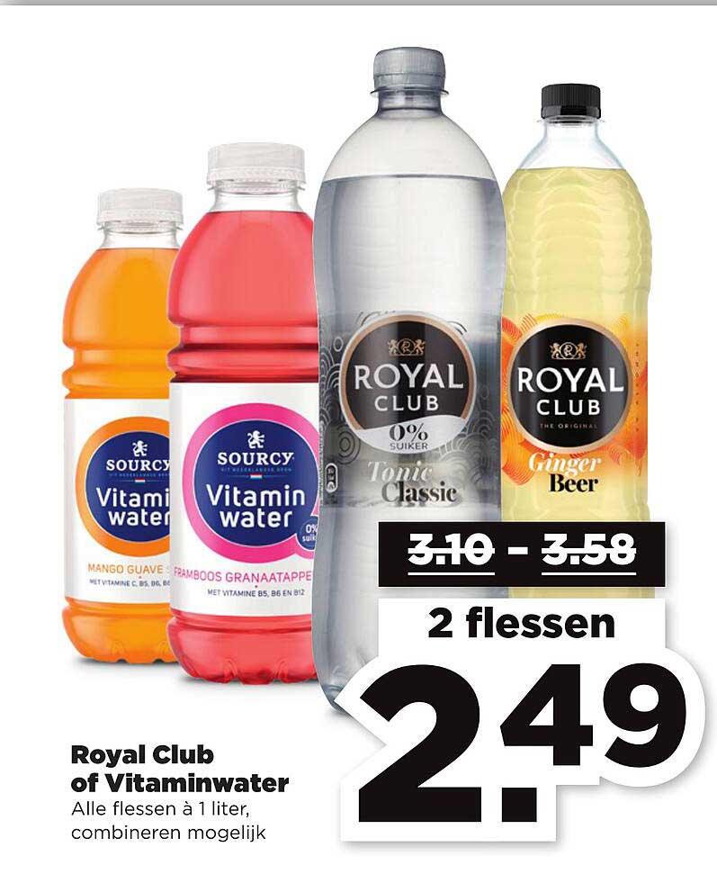 PLUS Royal Club Of Vitaminwater