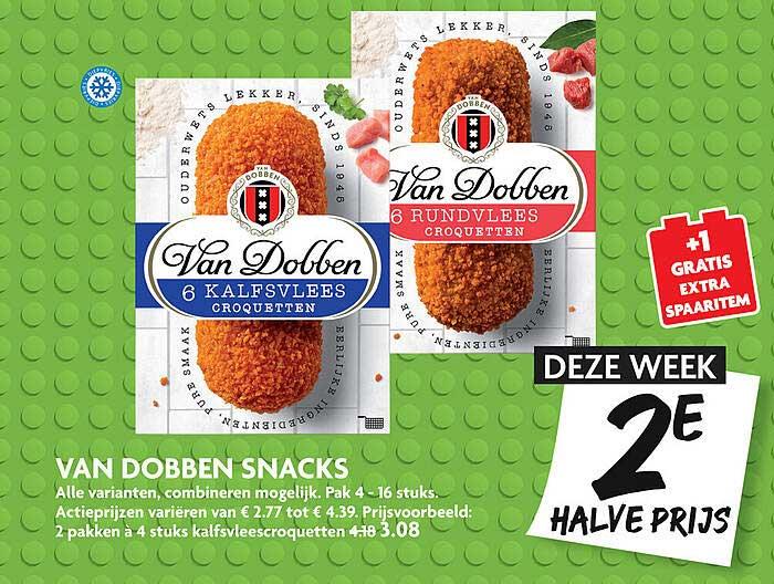 DekaMarkt Van Dobben Snacks