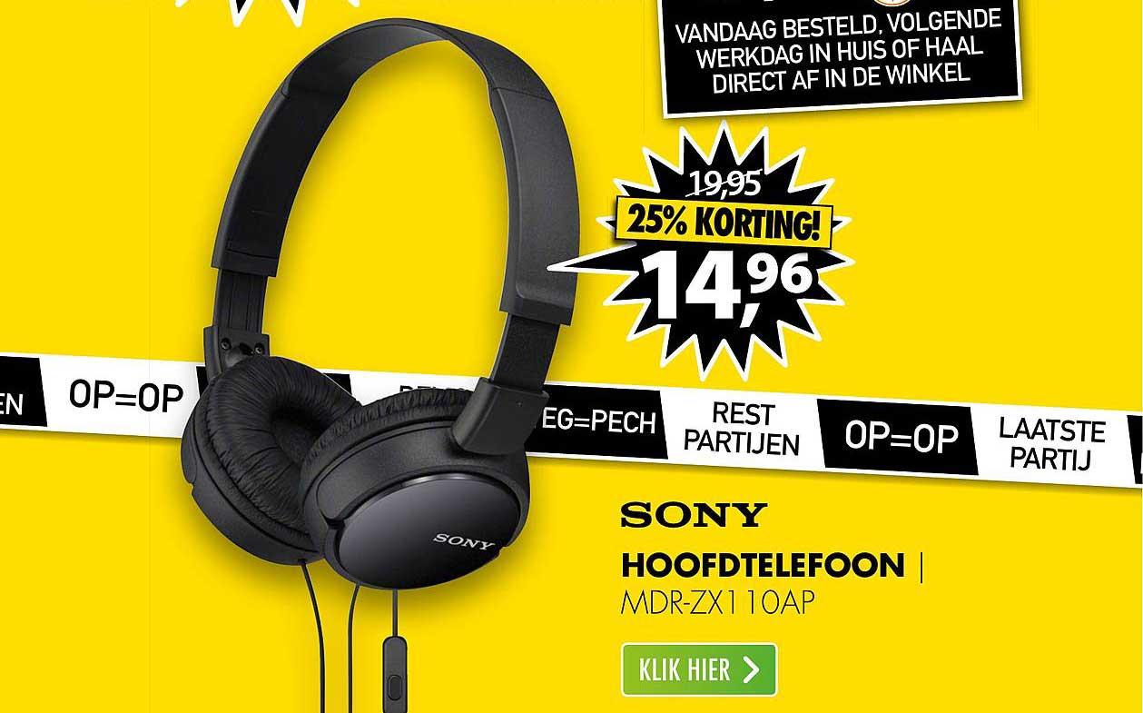 Audiologic Hoofdtelefoon Aanbieding bij Action
