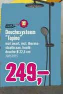 Hornbach Avital Douchesysteem Topino