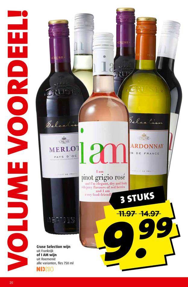 Boni Cruse Selection Wijn Of I Am Wijn
