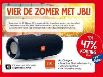 Jan Linders JBL Charge 4 Tot 47% Korting