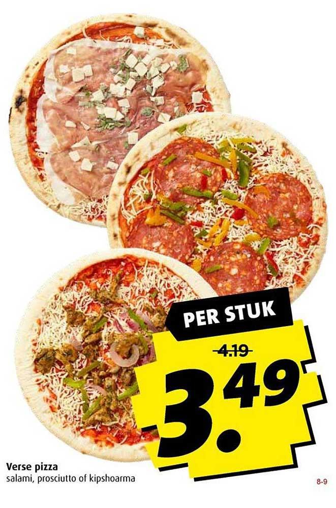 Boni Verse Pizza
