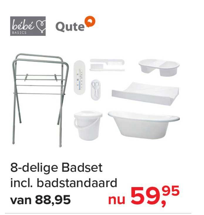 Baby-Dump 8 Delige Badset Incl Badstandaard