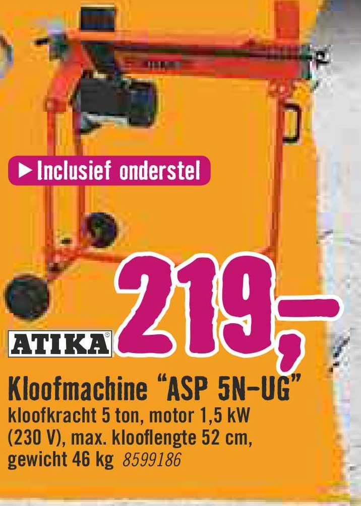 Hornbach Atika Kloofmachine ASP 5N-UG