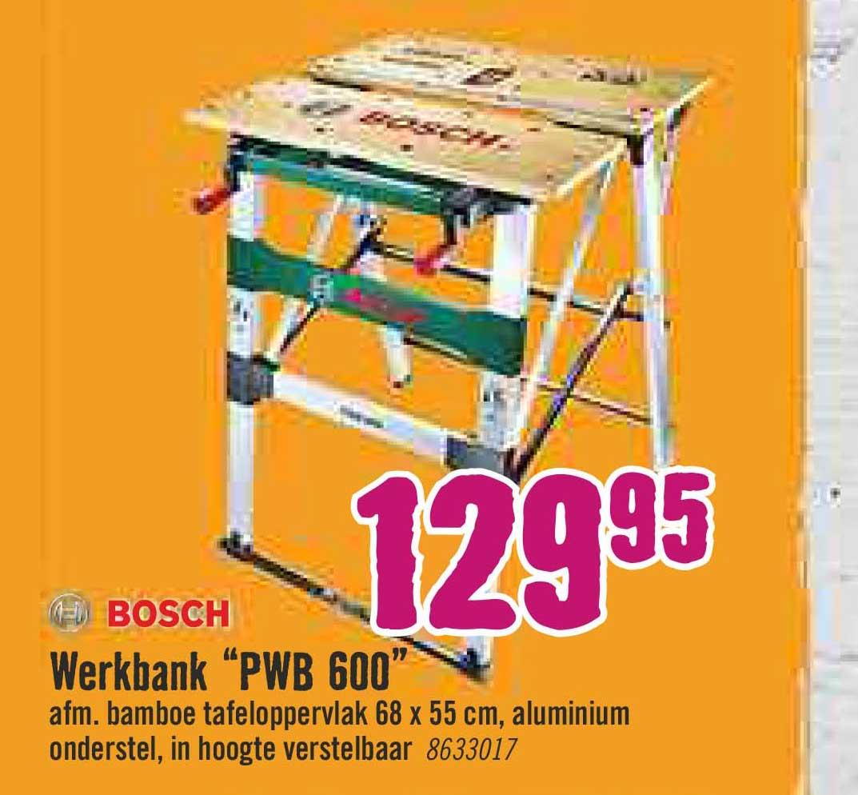 Hornbach Bosch Werkbank PWB 600