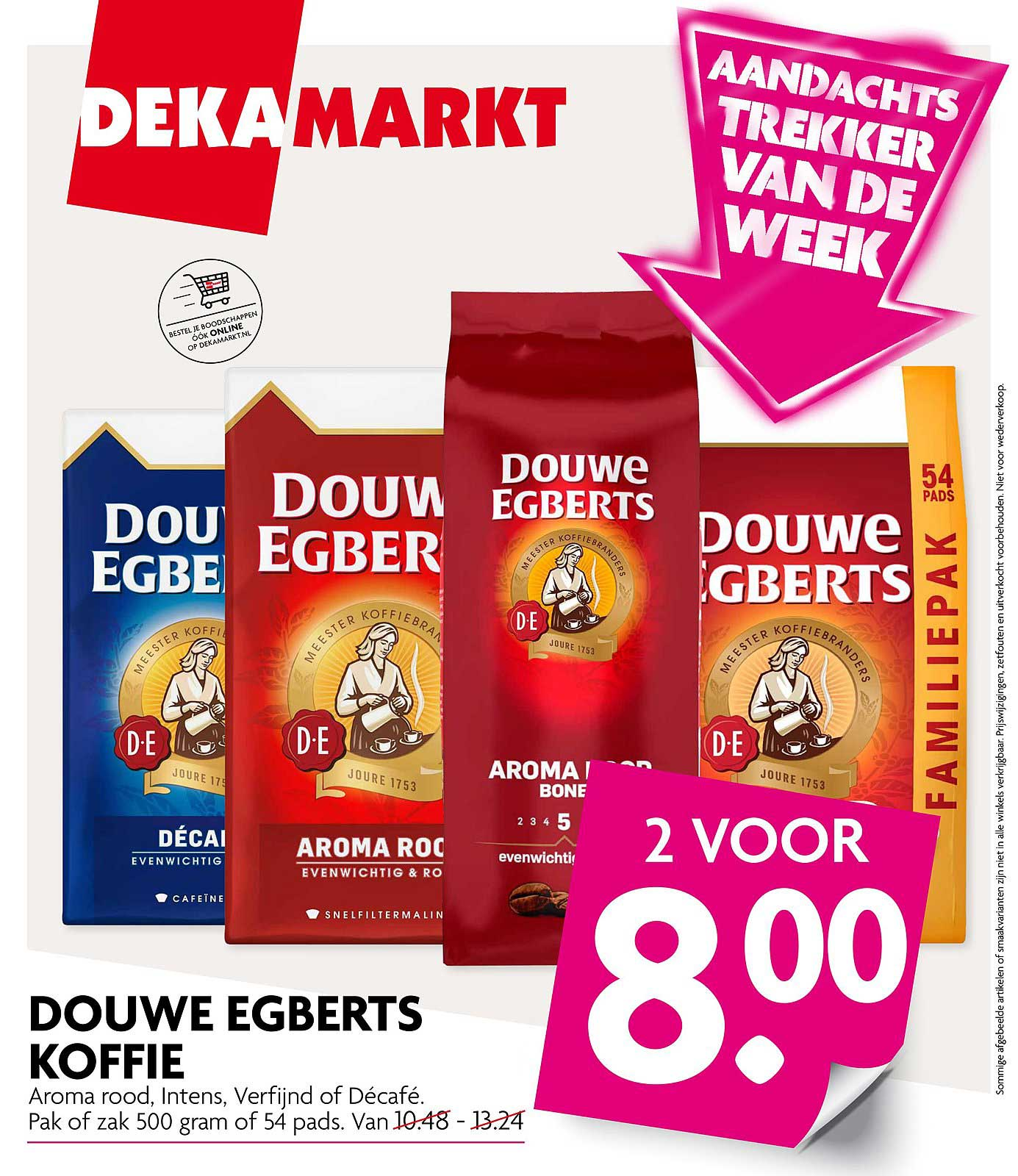DekaMarkt Douwe Egberts Koffie