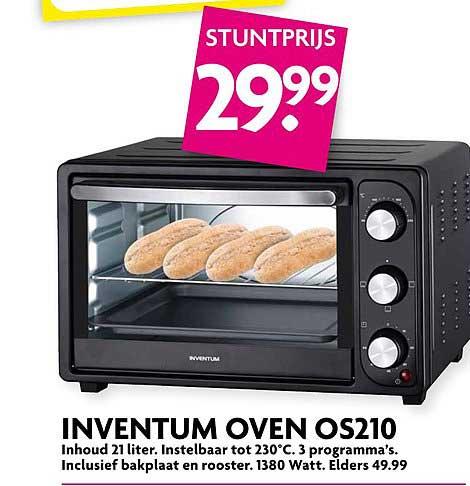 DekaMarkt Inventum Oven OS210