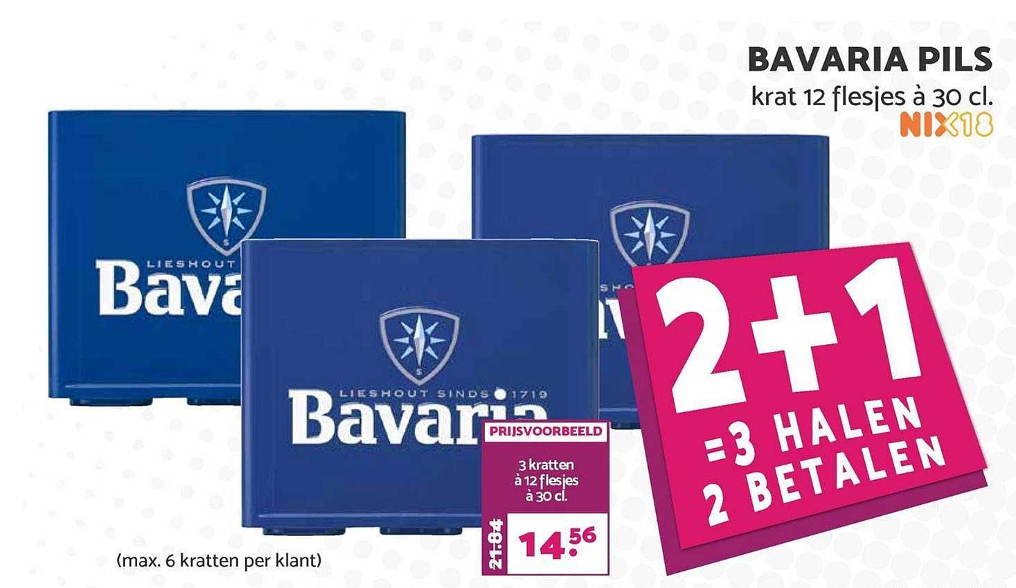 MCD Supermarkt Bavaria Pils 2+1 Gratis