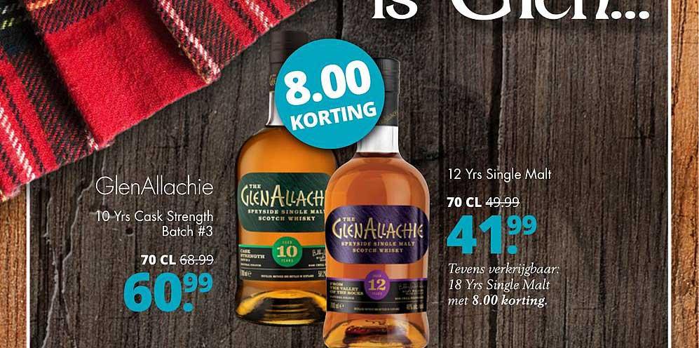 Mitra GlenAllachie 10 Yrs Cask Strength Batch #3 Of 12 Yrs Single Malt
