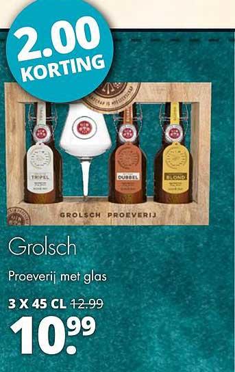 Mitra Grolsch Proeverij Met Glas