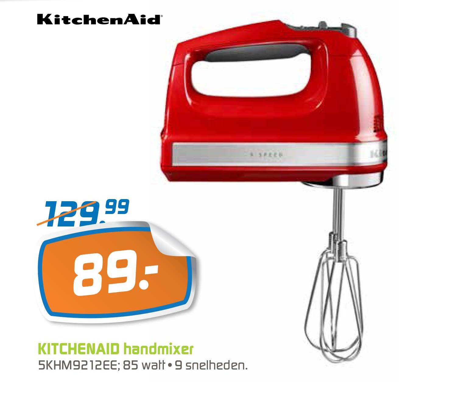BCC Kitchenaid 5KHM9212EE Handmixer