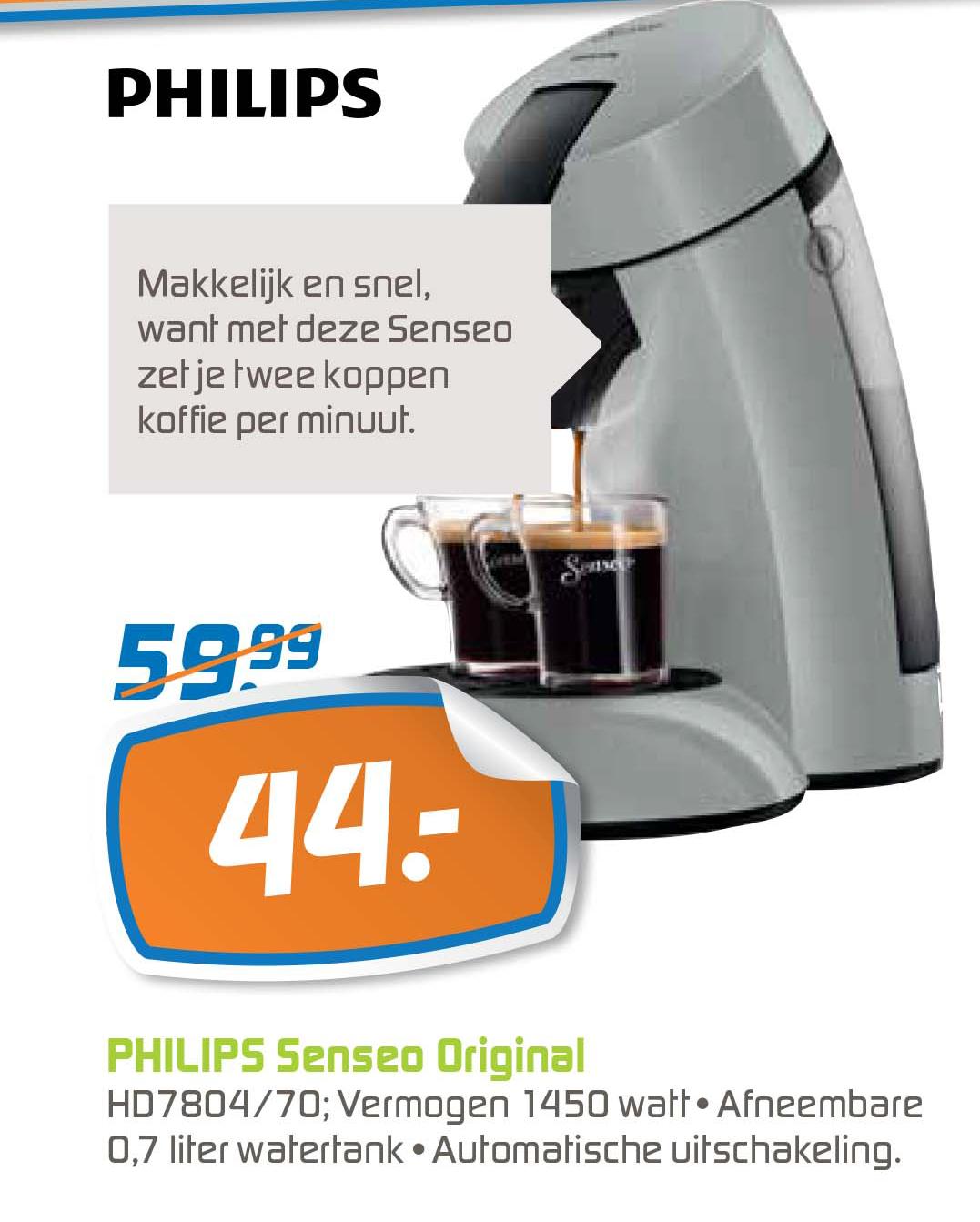 BCC Philips Senseo Original