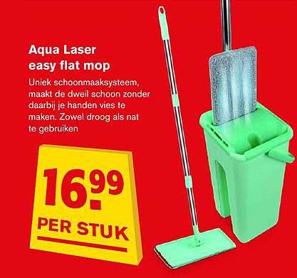 Hoogvliet Aqua Laser Easy Flat Mop