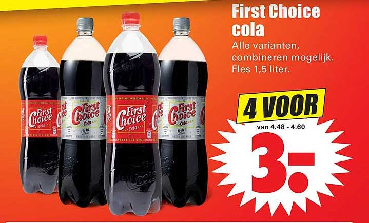 Dirk First Choice Cola