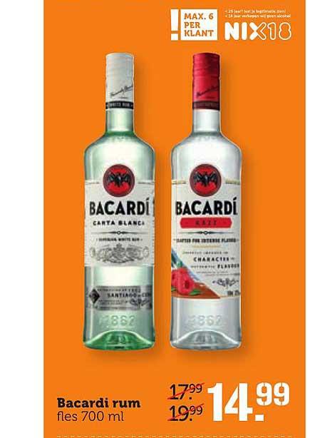 Coop Bacardi Rum