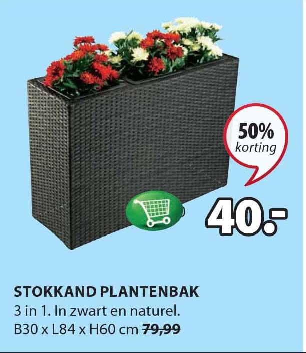Jysk Stokkand Plantenbak