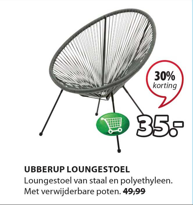 Jysk Ubberup Loungestoel