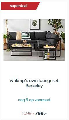 Wehkamp Whkmp's Own Loungeset Berkeley