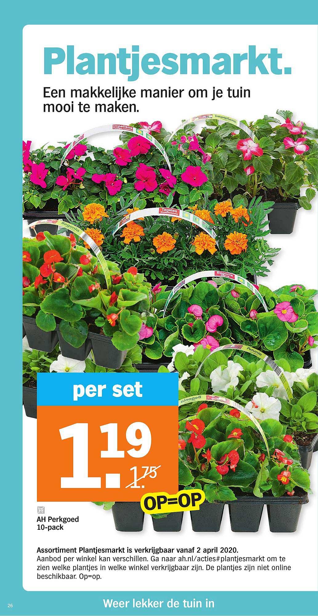 Albert Heijn Plantjesmarkt