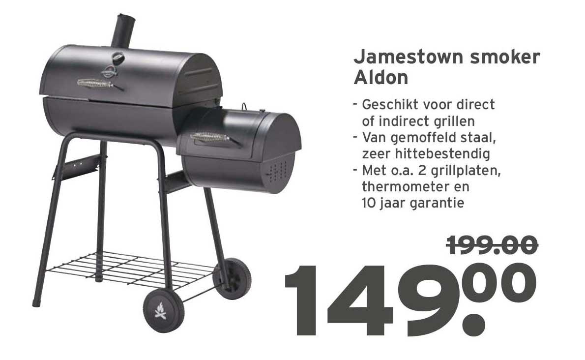 GAMMA | Jamestown Smoker Charlton kopen? | barbecues