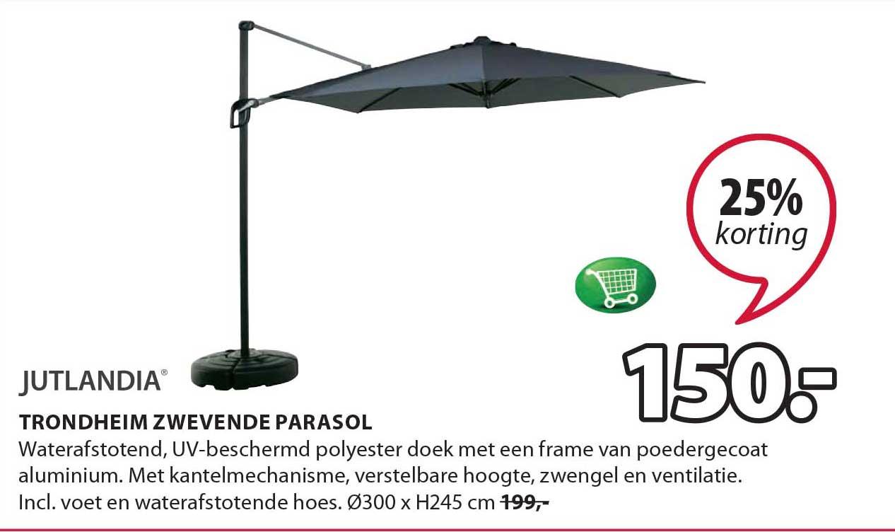 Jysk Trondheim Zwevende Parasol