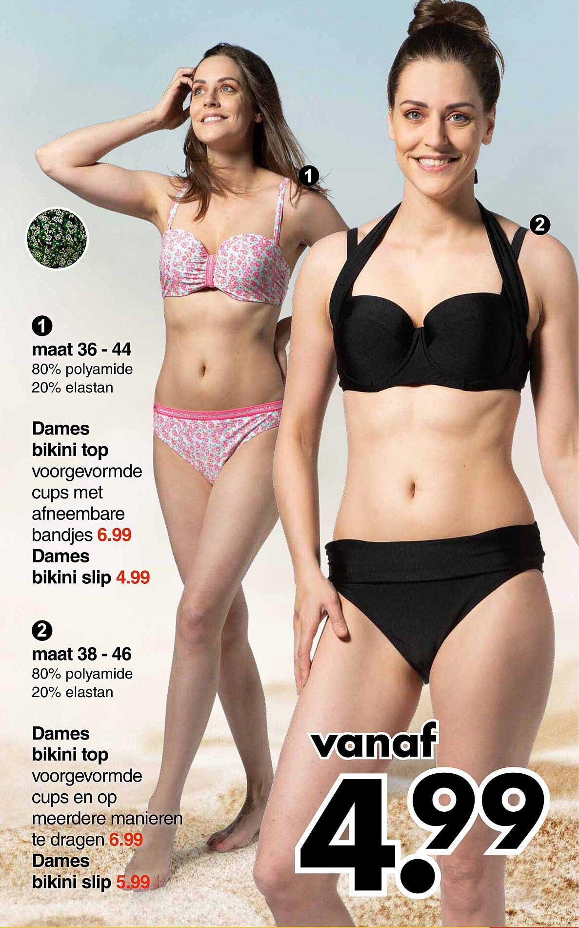 Wibra Dames Bikini Top