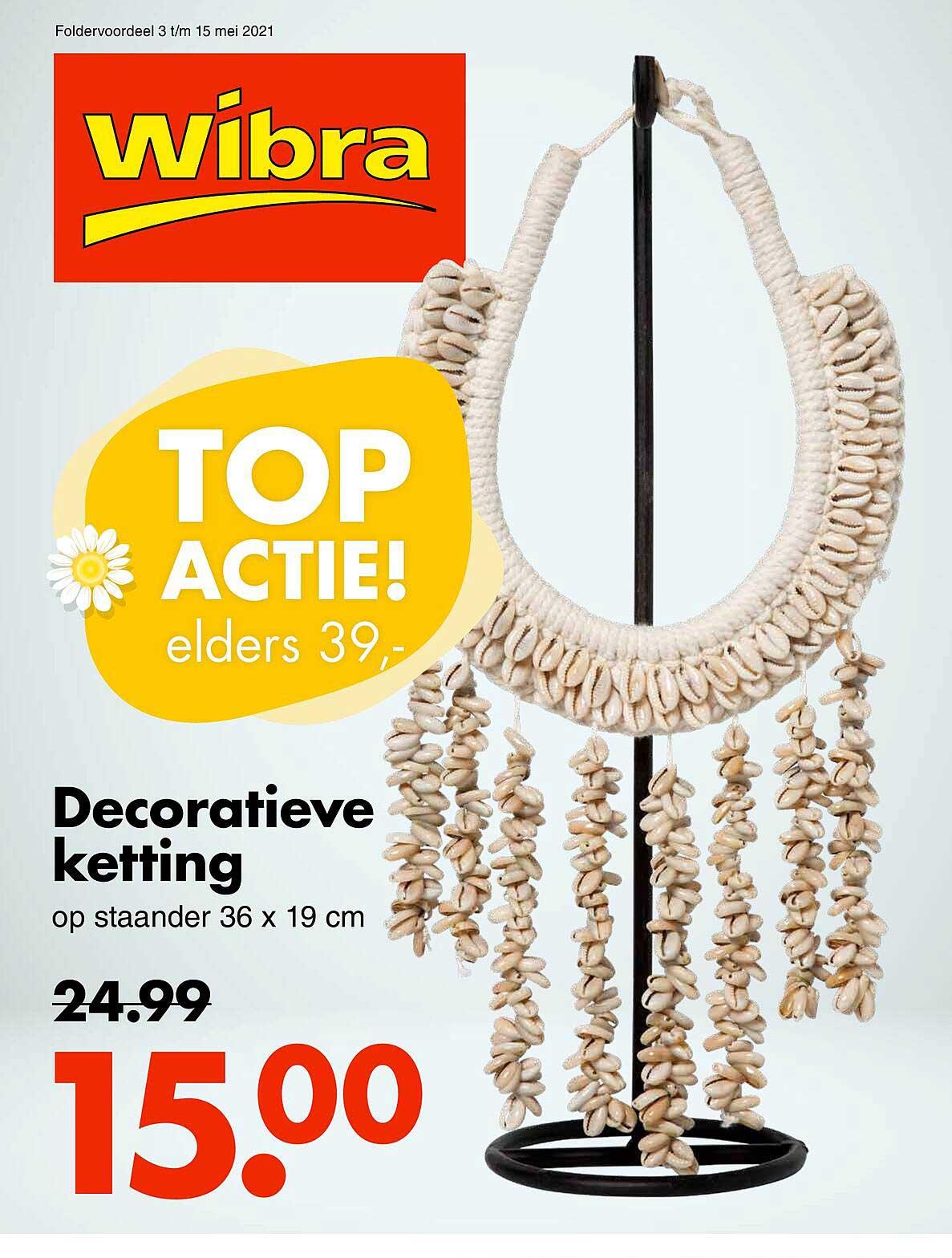 Wibra Decoratieve Ketting