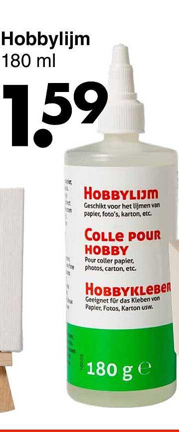 Wibra Hobbylijm 180 Ml
