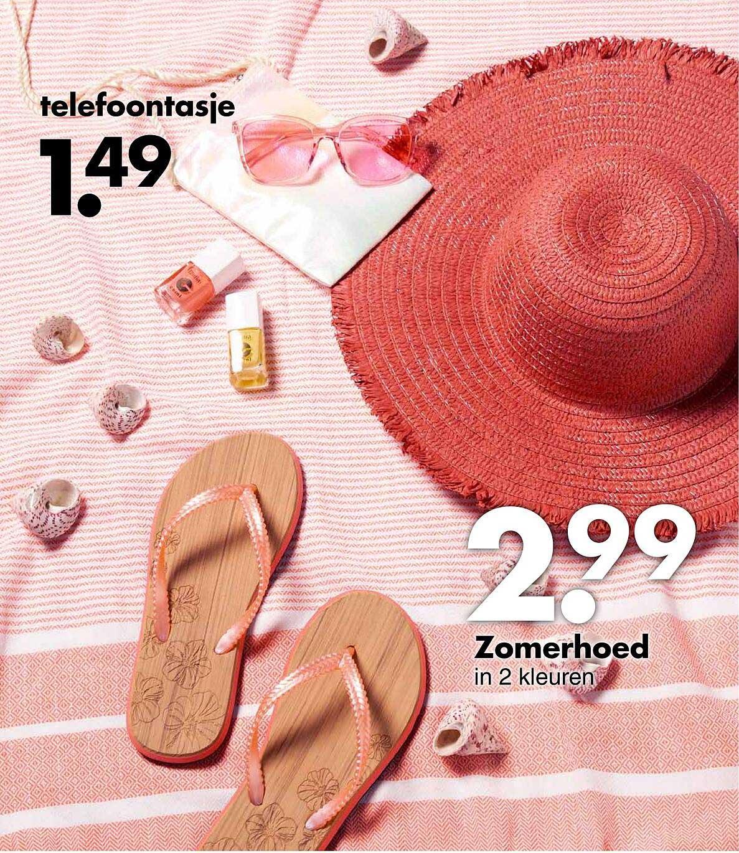 Wibra Telefoontasje Of Zomerhoed