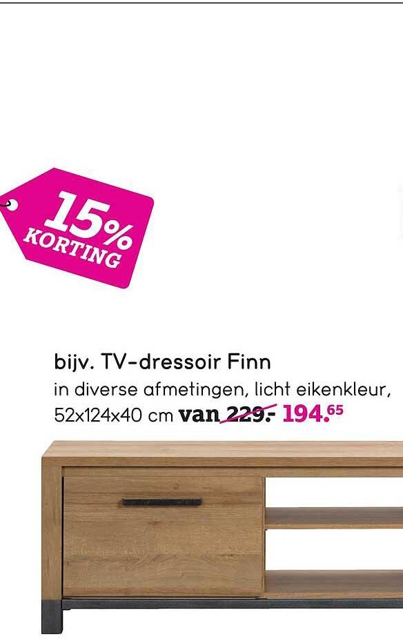 Leen Bakker TV-Dressoir Finn