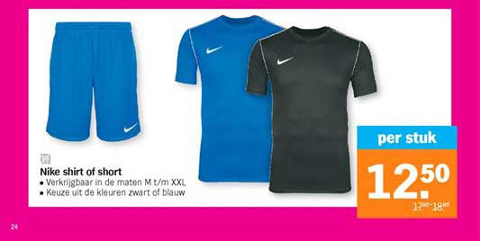 Albert Heijn Nike Shirt Of Short