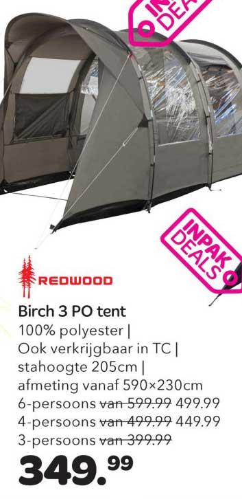 Vrijbuiter Birch 3 PO Tent