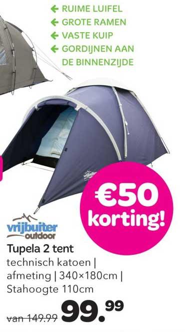 Vrijbuiter Tupela 2 Tent