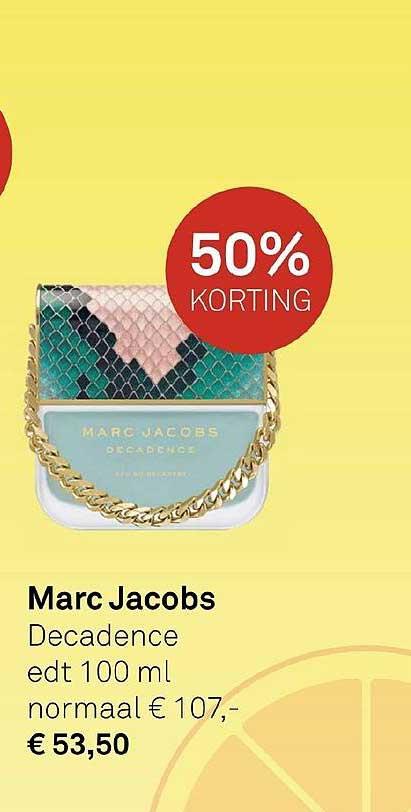 MOOI Parfumerie Marc Jacobs Decadence 50% Korting